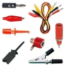 Test Leads Probes Alligator Clips IC Hook Grabbers Banana Plugs Jacks