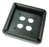84 pin PLCC IC Socket Thru Hole