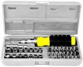 Bit & Socket Tool Set 41pc