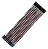 Jumper Wires Ribbon F-F 40p 8""