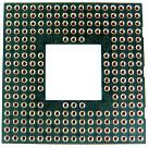 225 pin 17x17 PGA Socket